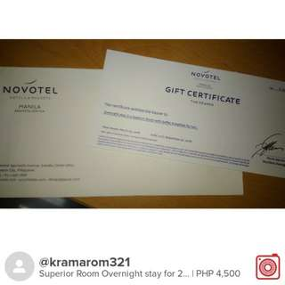 Novotel Overnight Stay in Superior Room for 2 with breakfast buffet
