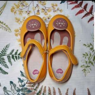 Mini Melissa Auth shoes sandals cookie yellow s10