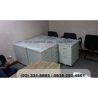 (( movable mobile pedestal )) office partition **