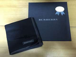 Burberry handkerchief/ pocket square  手巾/口袋巾