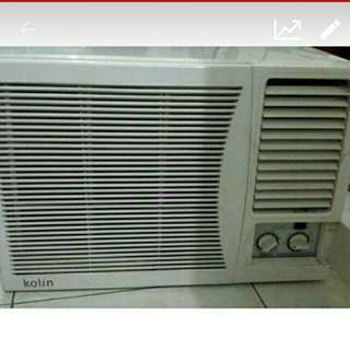 URGENT/ REPRICED: KOLIN AIRCON 1.5HP, MANUAL.