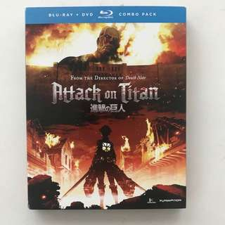 Attack on Titan part 1 Blu Ray