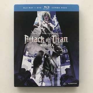 Attack on Titan part 2 Blu Ray