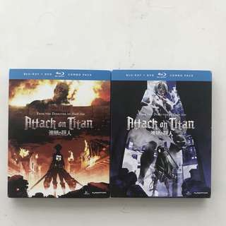 Attack on Titan Blu Ray