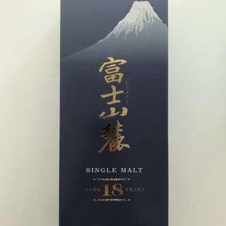 富士山麓18年威士忌