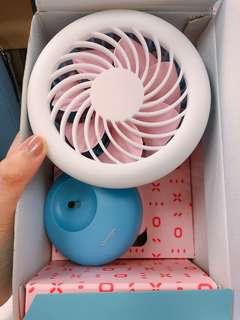 🔹多啦A夢 粉色系列 🎀Chocolight 手提風扇燈 Portable Fan Light