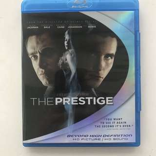 The Prestige Blu ray