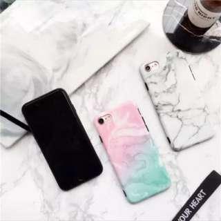 🚚 ✨i6s 4.7吋粉色大理石紋軟殼