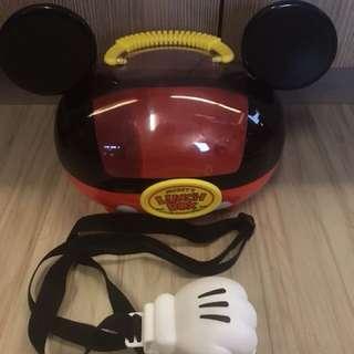 🚚 二手 迪士尼樂園絕版米奇野餐盒