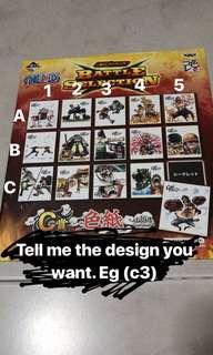 Ichiban kuji Luffy 4th Gear prize C