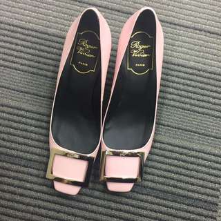Roger Vivier 70mm calf leather, size 36, color: Rosa, with box, 99% no dirt or damage, worn once only