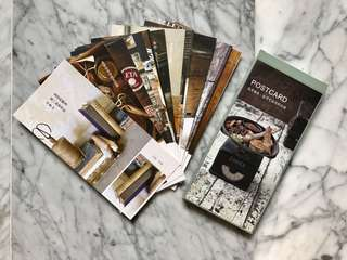 Zakka style postcards