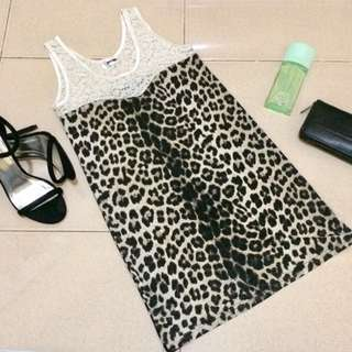 Leopard Print Top (Strechable)