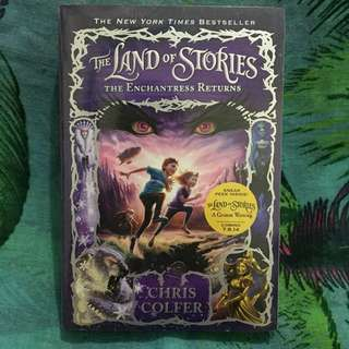 📖The Land of Stories - The Enchantress Returns by Chris Colfer