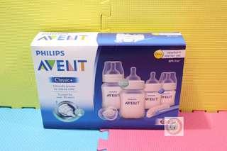 [順豐包郵][全新] 英國製造 全新 飛利浦 AVENT CLASSIC+系列 初生嬰兒奶樽套裝 PHILIPS AVENT CLASSIC+ NEWBORN STARTER SET