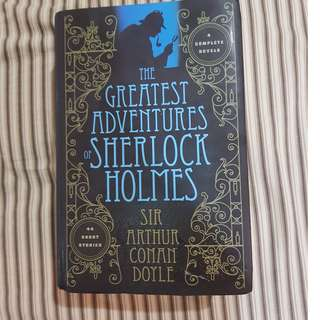 The Greatest Adventures of Sherlock Holmes- Sir Arthur Conan Doyle