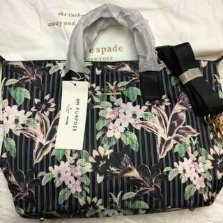 Authentic katespade tote bag with sling