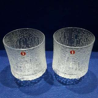 Crystal glasses  from Finland