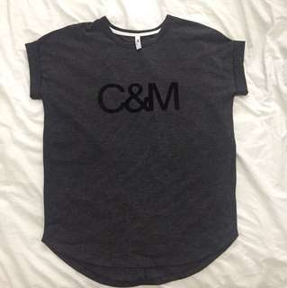 Camilla and Marc Grey T