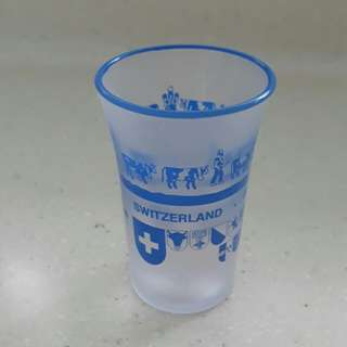 Shot Glass from Switzerland