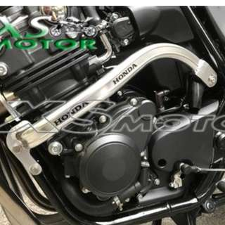 Honda CB400SF super 4 super4 crash bar 2 point handles minimal chrome protection guard
