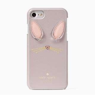 SALE Kate Spade Bunny Applique iPhone Case