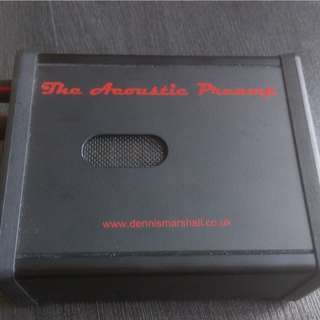 DENNIS MARSHALL ACOUSTIC PREAMP