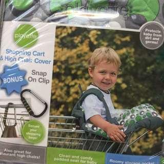 Playette Shopping Cart & High Chair Cover