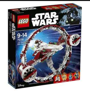 Lego Star War Jedi Fighter with Hyperdrive