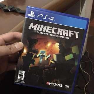 BD Kaset PS4 Minecraft (SOLD / Sudah laku)