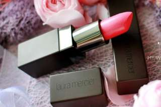 Laura Mercier Lipstick French Kiss Bright Pink Full Size! Lovely Sweet Pink