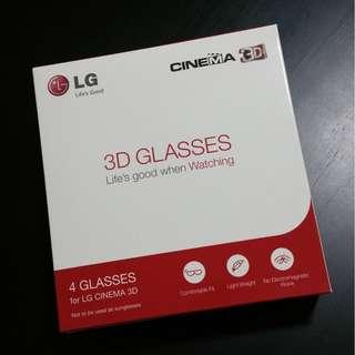 BNIB LG Cinema 3D Glasses
