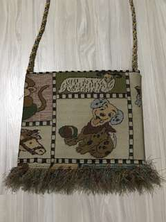 Handcarry handmade bag