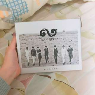 INFINITE BE BACK ALBUM(優賢小卡)