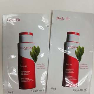 Clarins Body Fit sample