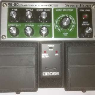 Boss Roland Space Echo Pedal