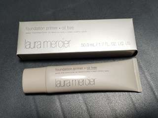 BNIB Laura Mercier Foundation Primer Oil Free Full Size 50ml!! Brand new suitable for sensitive oily acne prone skin