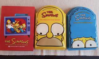 Simpsons collectors edition Vcds