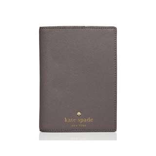 SALE Kate Spade Mikas Pond Passport Holder Cliff Grey