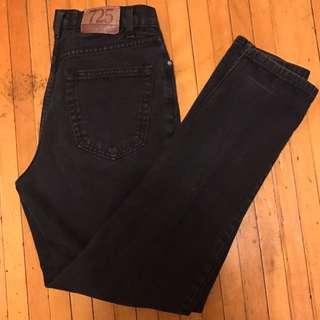vintage black mom jeans
