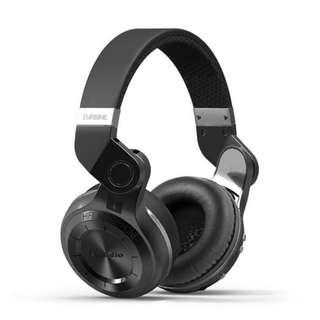 Bluedio T2+  頭戴式藍牙耳機 立體聲 HIFI 音樂 運動式耳筒