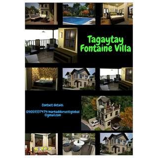 Tagaytay Fontaine Villa
