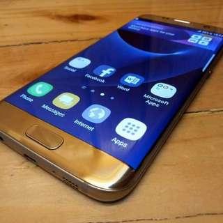Samsung Galaxy S7 Edge 32GB 4GB ram Platinum Gold 4G LTE single Sim