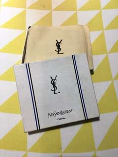 Classic Yves Saint Laurent (YSL) Men's Wallet