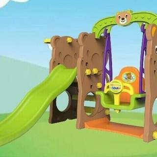 Prosotan Ayunan Slide n swing playhouse playground anak