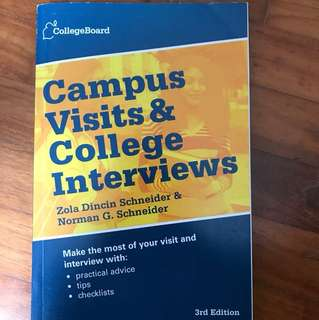 US College: Campus visits and college interview