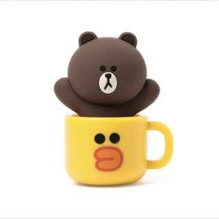 LINE FRIENDS 熊大Brown USB 16 GB