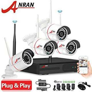Brand New - 4 Channel Home Security System going at $160 ONLY!