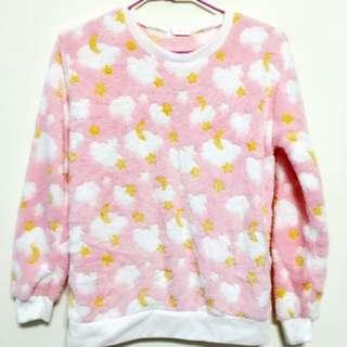 🚚 粉白雲朵睡衣☁️(整套)