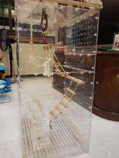 Acrylic Bird Cage